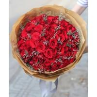 Bó hồng đỏ 100 bông