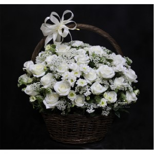 Giỏ hoa chia buồn 015