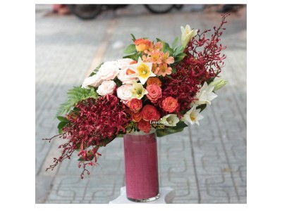 Nghệ thuật cắm hoa với giá trị lan toả